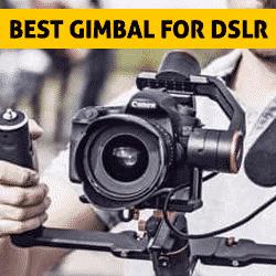 best gimbal for dslr