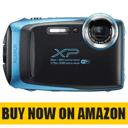 Fujifilm FinePix XP130 - Best Waterproof Travel  Camera