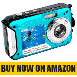 YISENCE Underwater Camera - Best Waterproof Camera Under 100