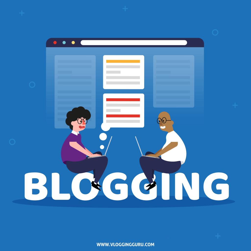 Blogging by vlogging guru