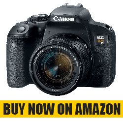 Canon EOS Rebel T7i US 24.2