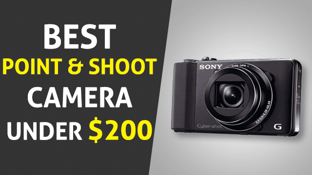 Best Point and shoot camera under 200
