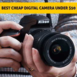 Best cheap digital camera under 50