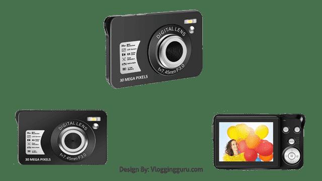 CEDITA 30 MP Digital Camera HD Mini Pocket Camera
