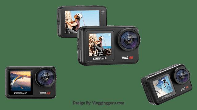 Campark V40 4K 30FPS WiFi Action Camera