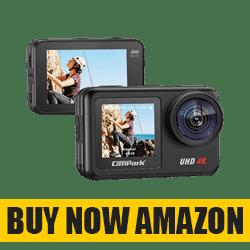 Campark V40 4K/30FPS - Best Waterproof Action Camera