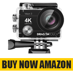 Dragon Touch 4K Action Camera - Best 4K action camera