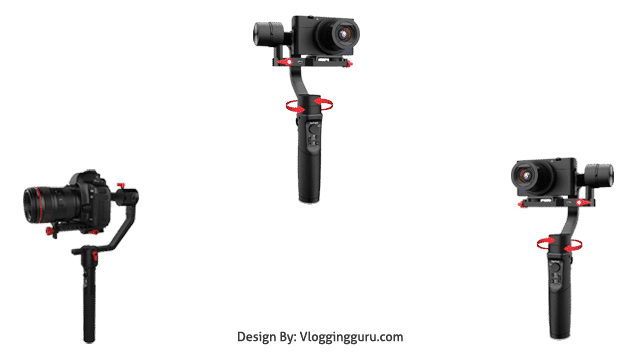 Hohem All in 1 3-Axis Gimbal Stabilizer for Compact Cameras