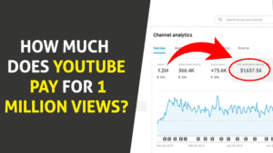 How Much Does YouTube Pay For 1 Million Views