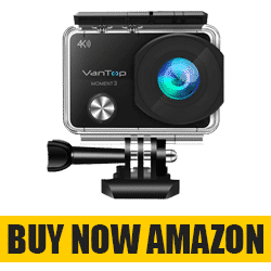 VanTop 4K Action Camera - Best Small Action Camera