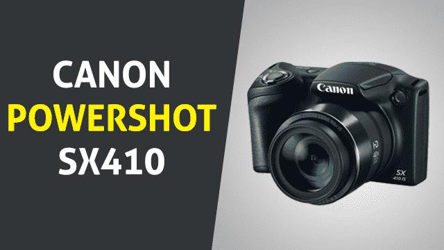 Canon Powershot SX410
