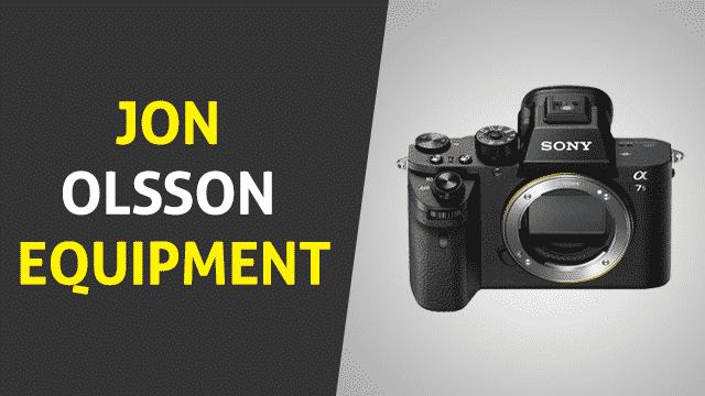 Jon Olsson Equipment