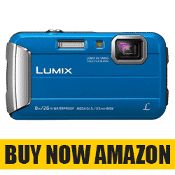 Panasonic Lumix DMC-FT30 Blue Model