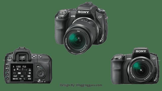 Sony Alpha A200K 10.2 MP
