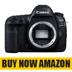 Canon EOS 5D Mark IV - Best Camera For Music Videos