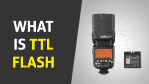 What is TTL flash?